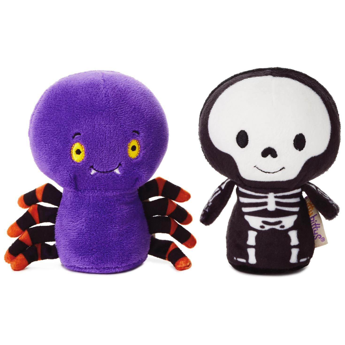 happy halloween spider plush
