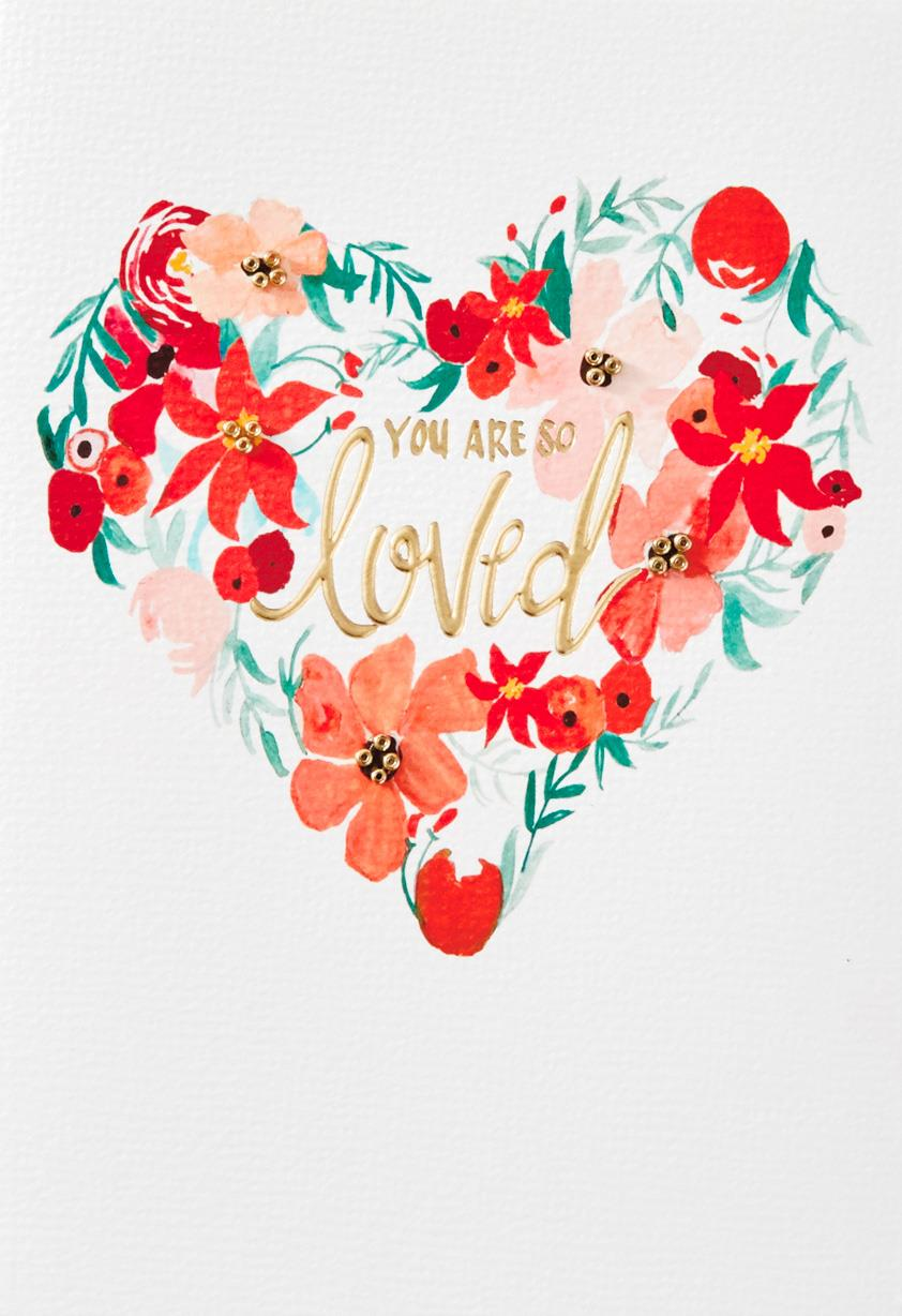 You Are So Loved Christmas Card Greeting Cards Hallmark