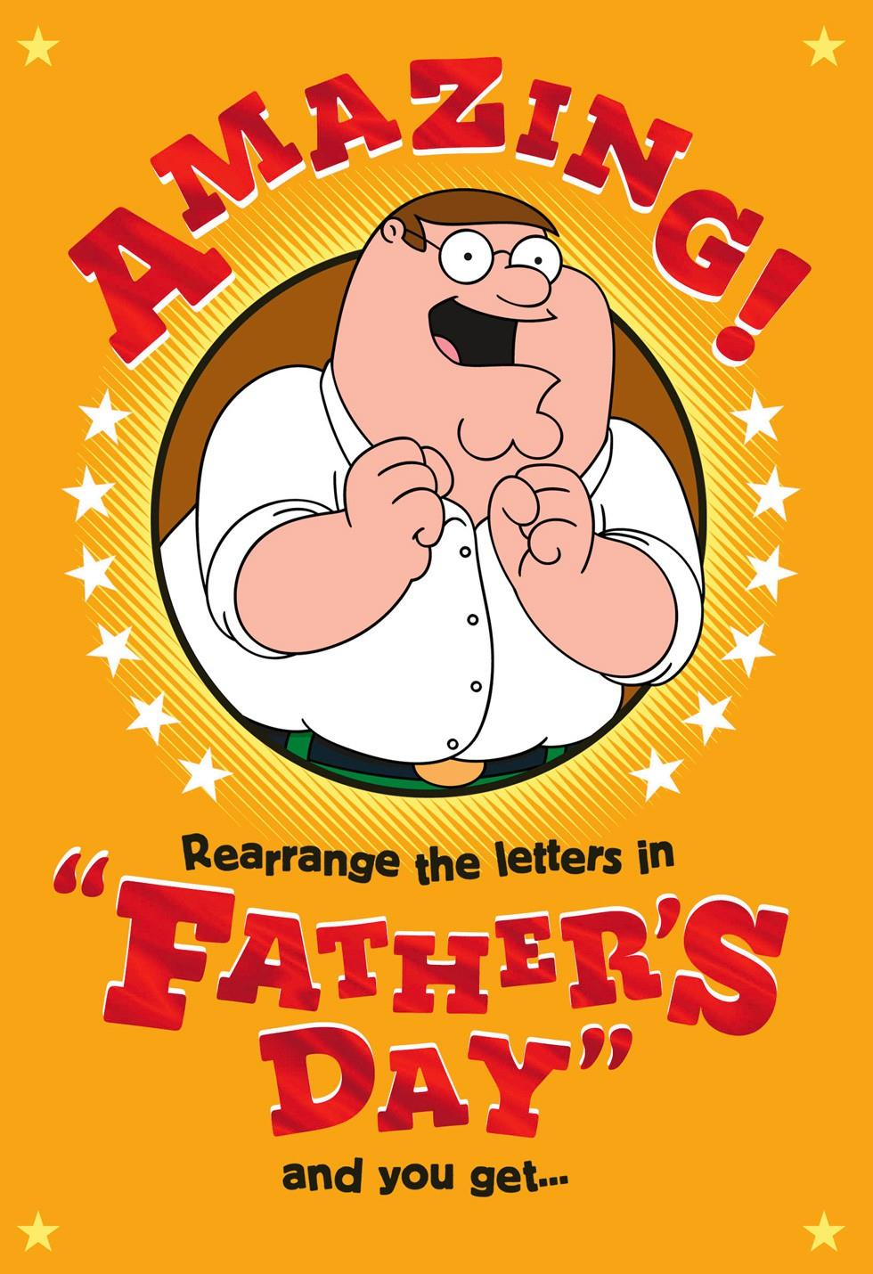 Family Guy Funny Fathers Day Card End Of Life Hallmark