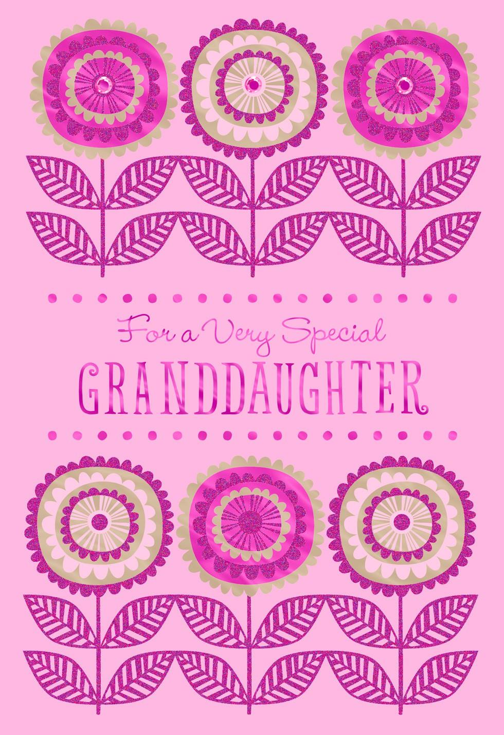 Mothers Day Card For A Sweet Granddaughter Greeting