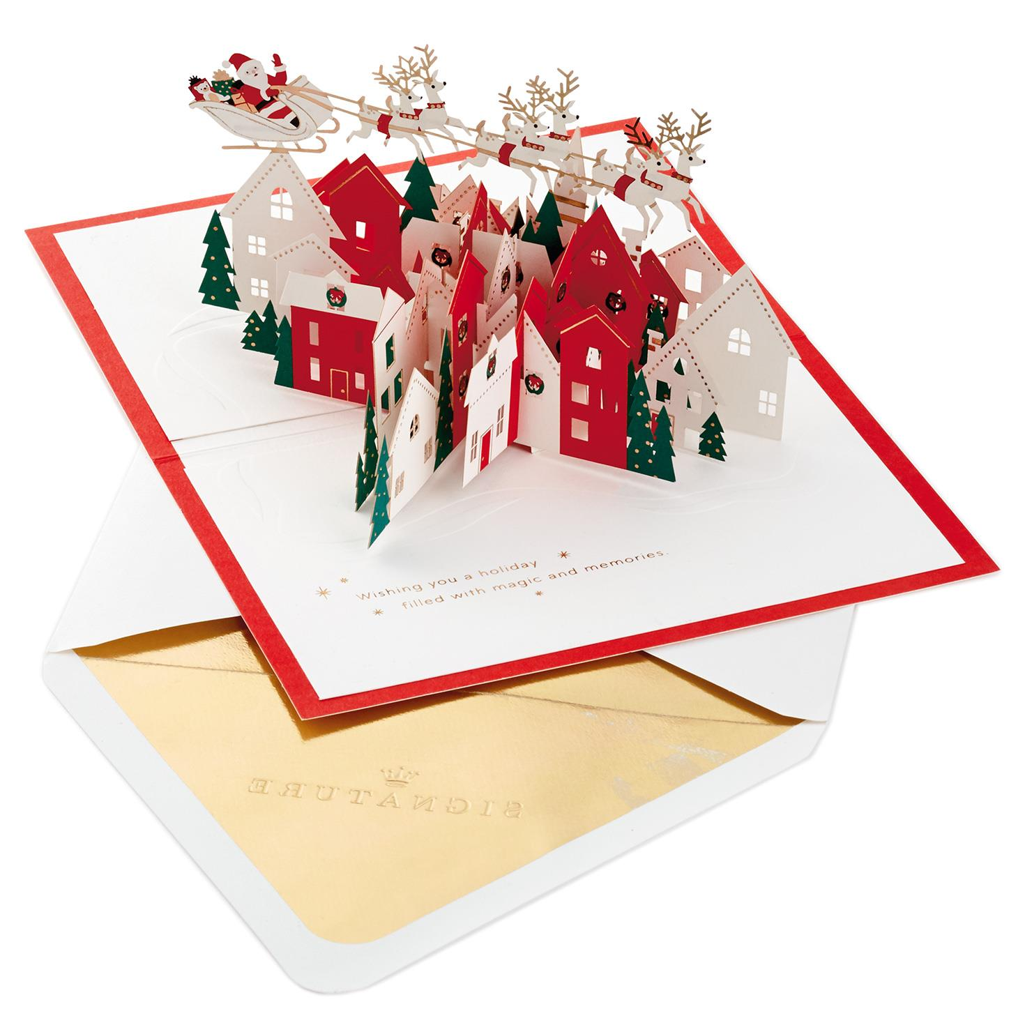 Holiday Sleigh Greeting Cards Business