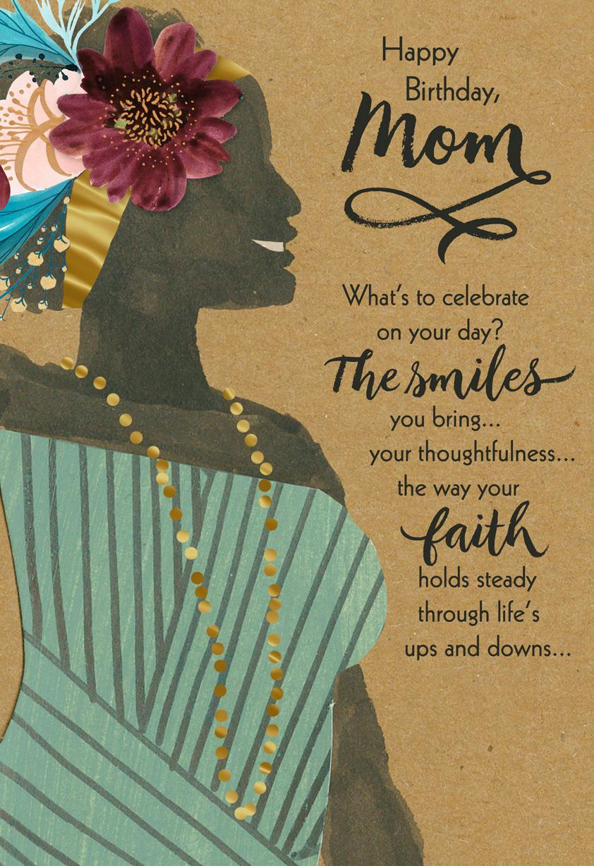 Youre A Blessing Religious Birthday Card For Mom Greeting Cards Hallmark