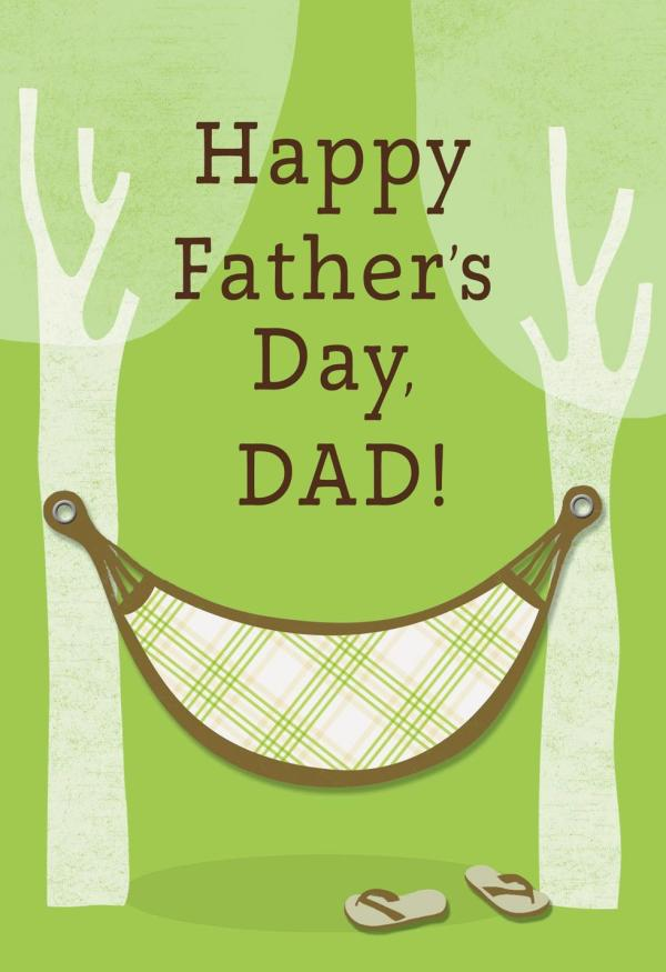Tree Hammock Father's Day Card - Greeting Cards - Hallmark