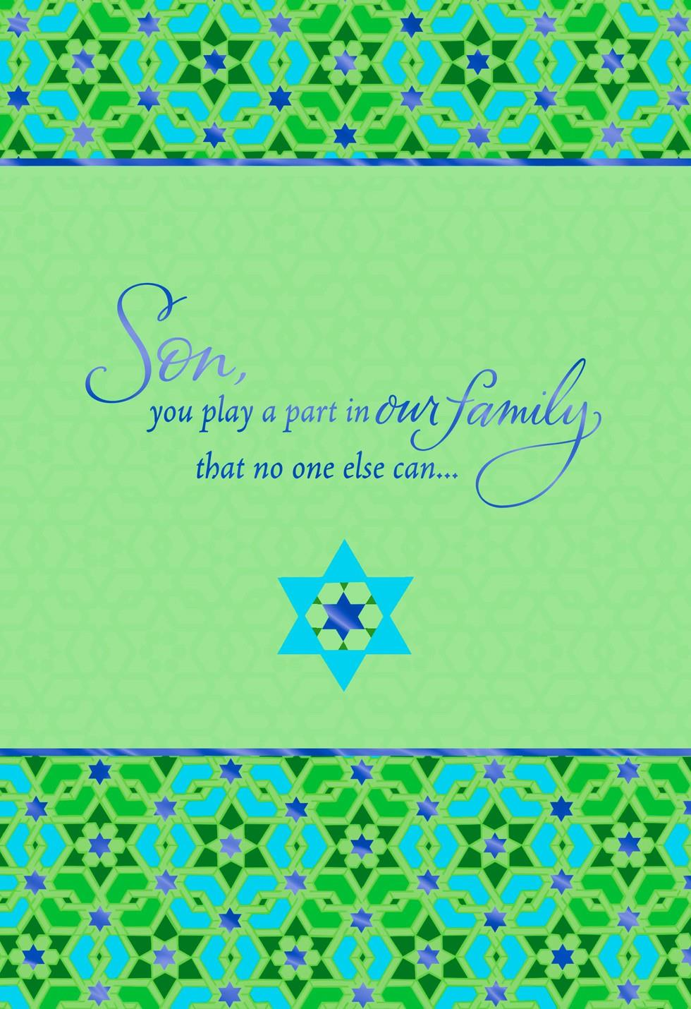 A Fine Son Passover Card Greeting Cards Hallmark