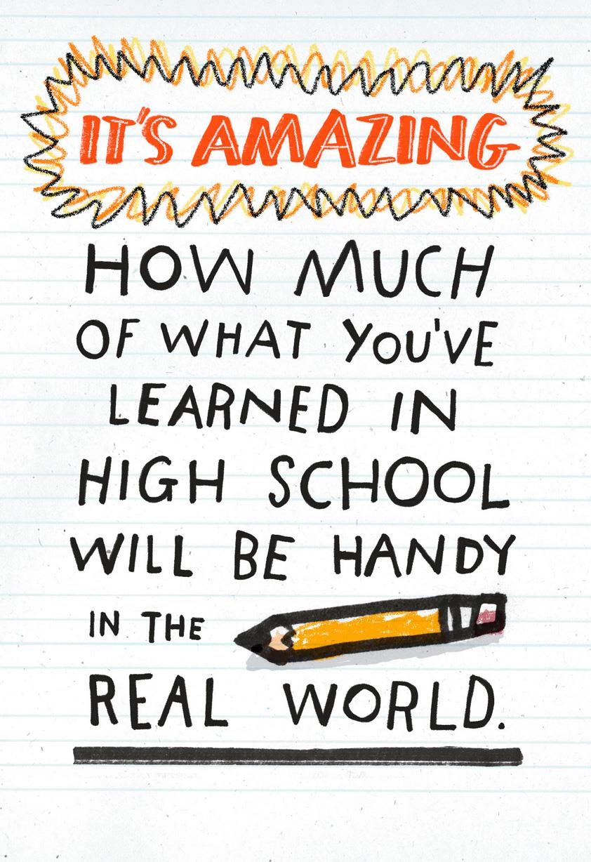 You Learned What Funny Graduation Card For High School