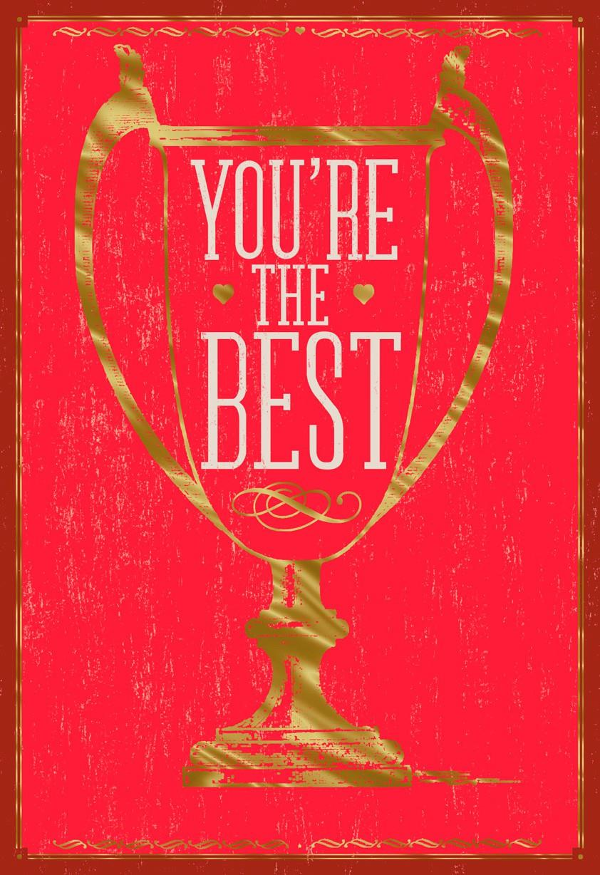 Youre The Best Valentines Day Card Greeting Cards
