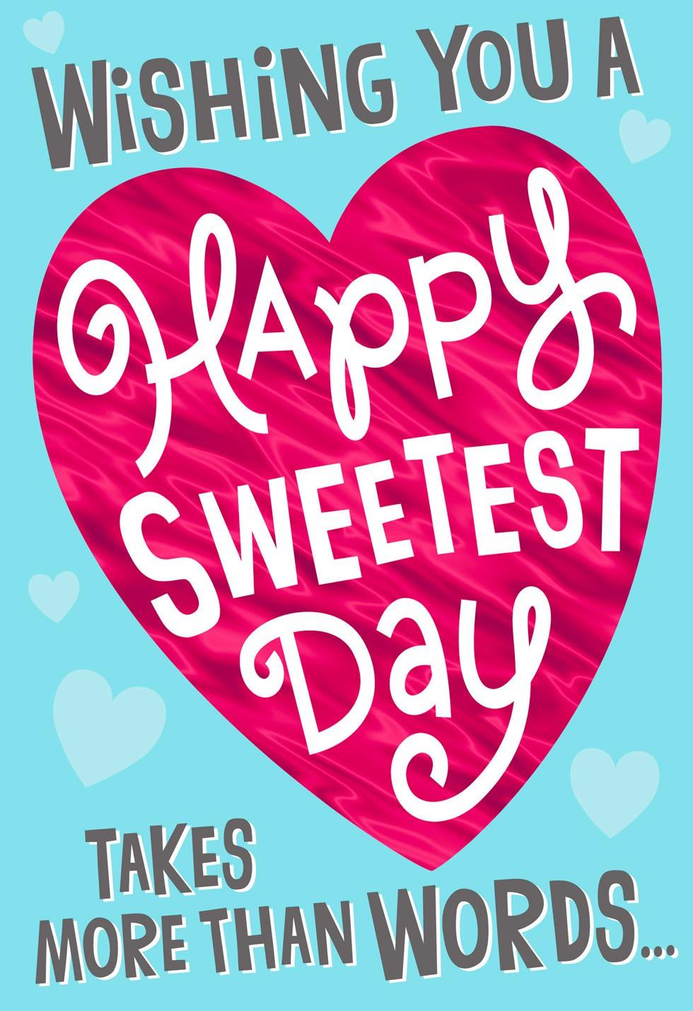 KITTENS Funny Sweetest Day Card Sweetest Day Greeting