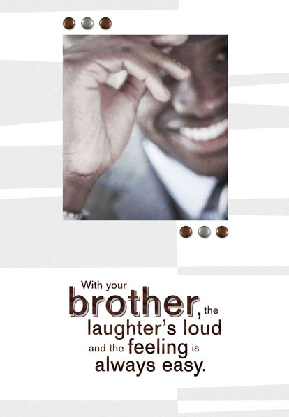 Birthday Smiles For Brother Birthday Card Greeting Cards