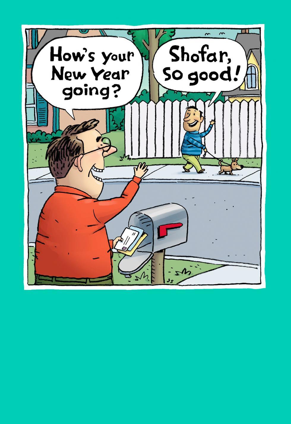 Shofar So Good Funny Rosh Hashanah Card Greeting Cards