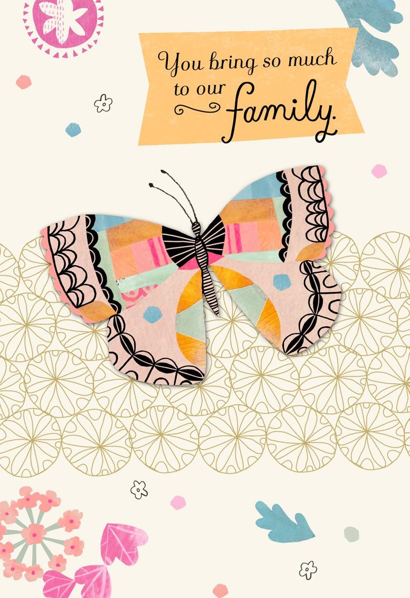 Enjoy The Day Mothers Day Card For Stepmom Greeting