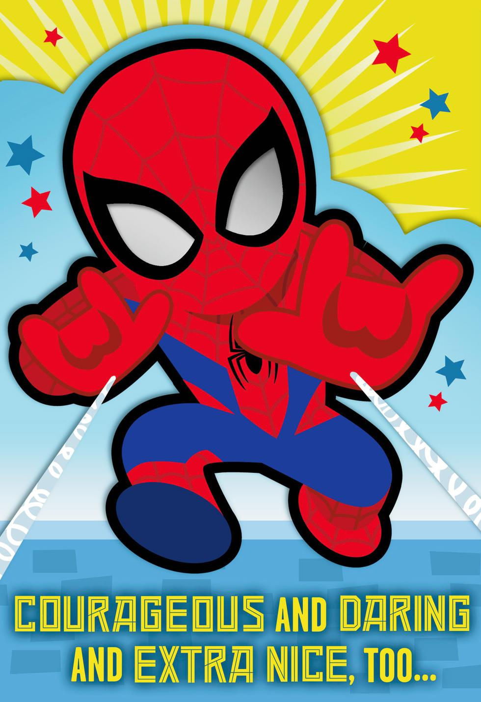 MARVEL Spider Man Youre A Great Kid Birthday Card