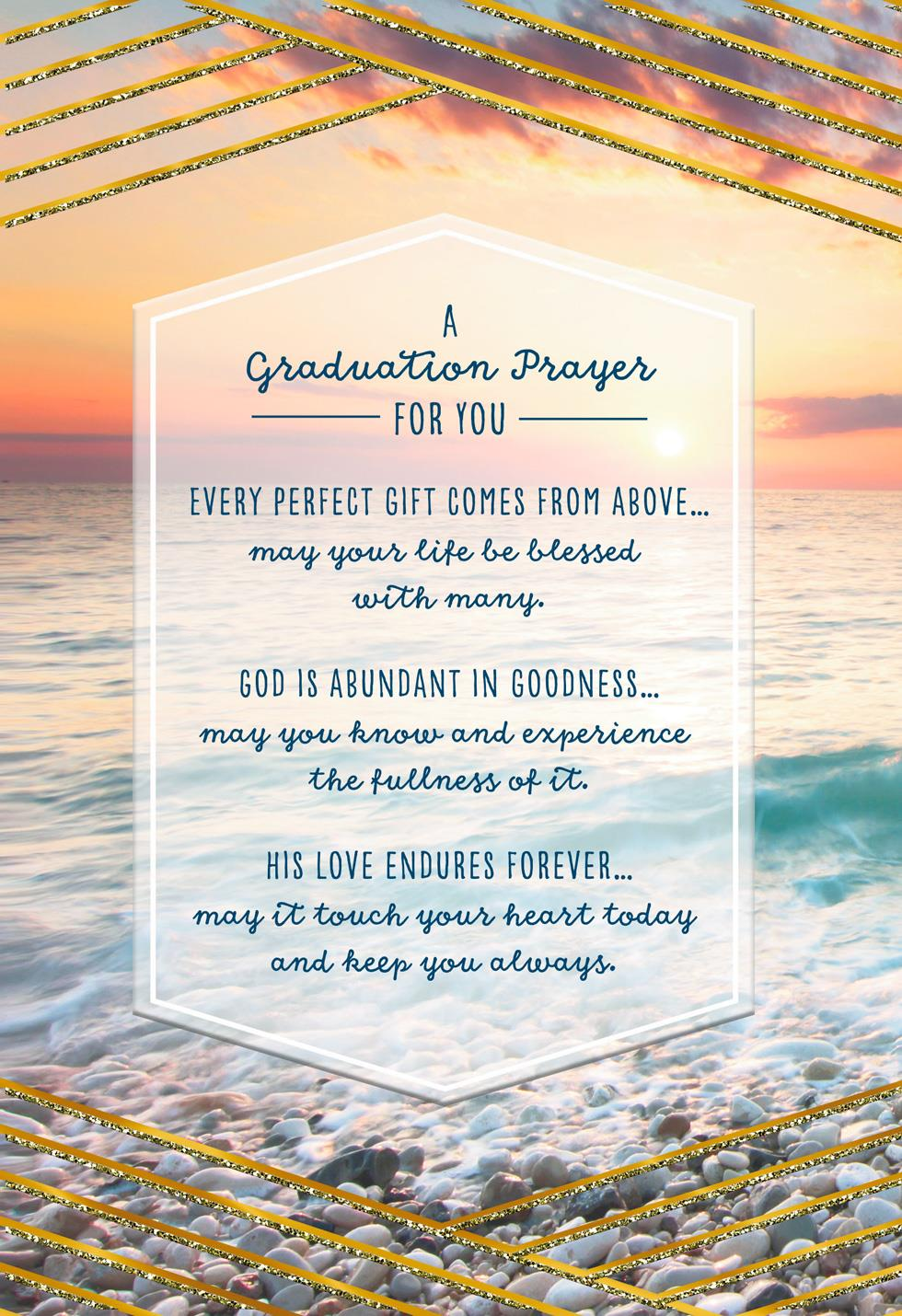 Prayer For You Religious Graduation Card Greeting Cards Hallmark