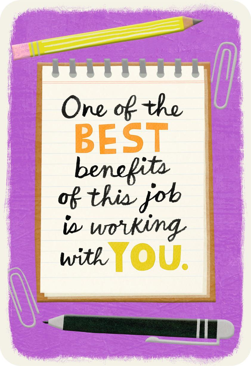 Awesome Coworker Appreciation Card Greeting Cards Hallmark