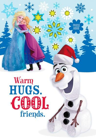 Disney Frozen Hugs And Friends With Sound And Light