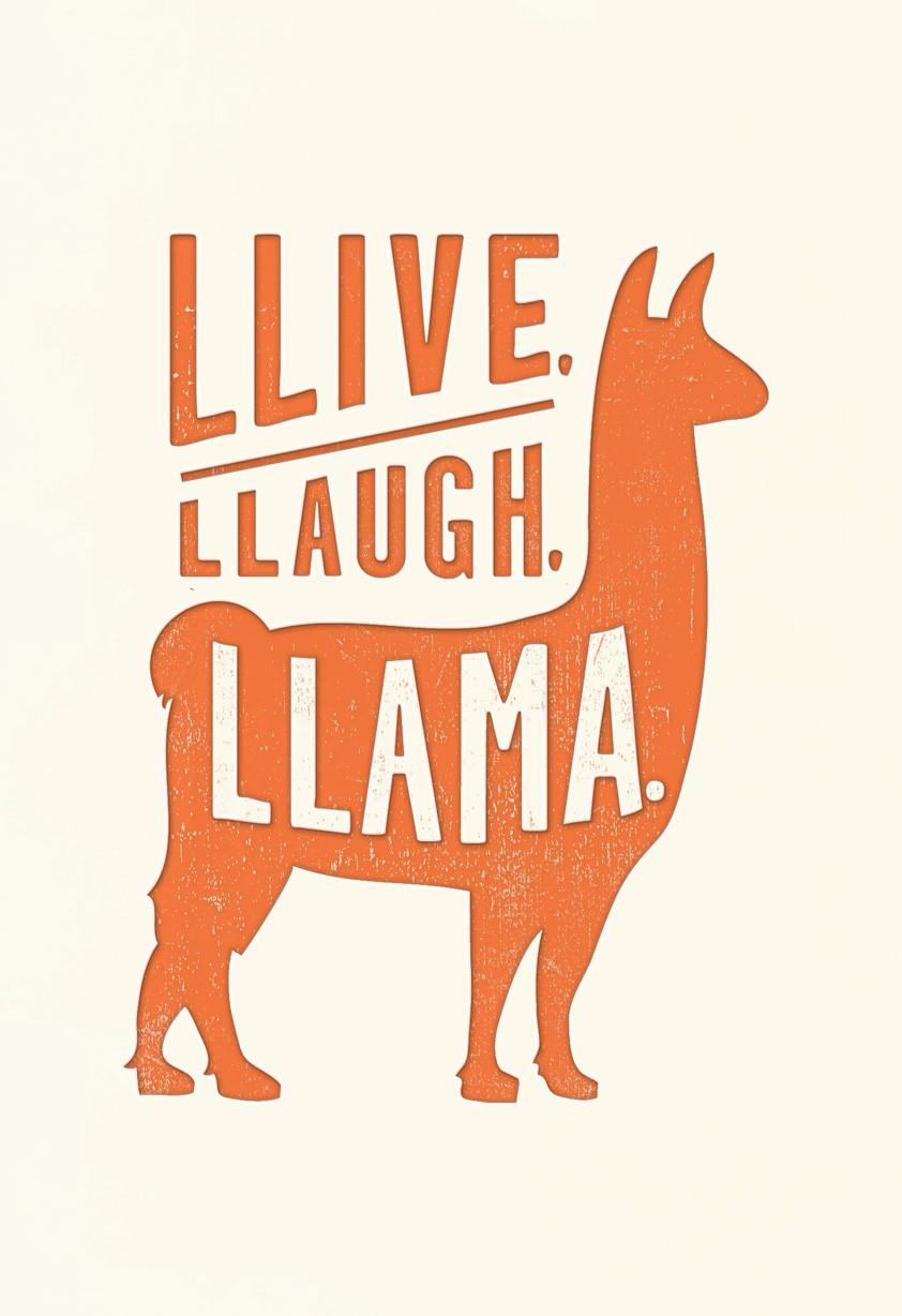 Llive Llaugh Llama Birthday Card Greeting Cards Hallmark