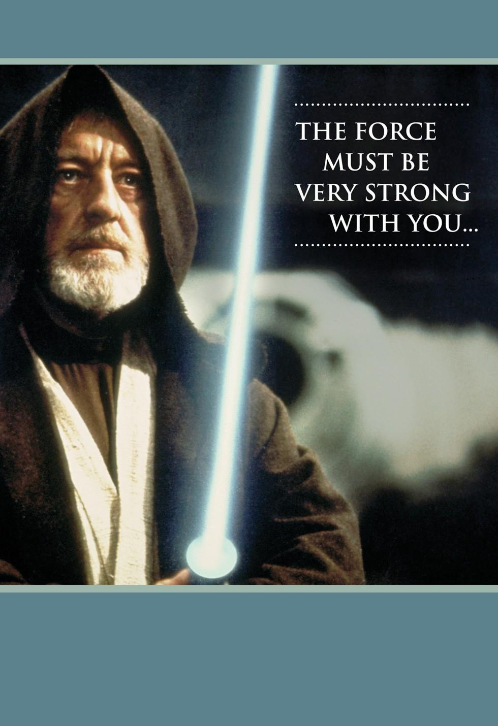 Star Wars Strong With The Force Musical Congratulations