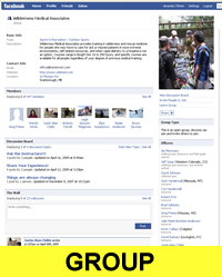 Facebook Group Page