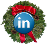 LinkedIn Wreath