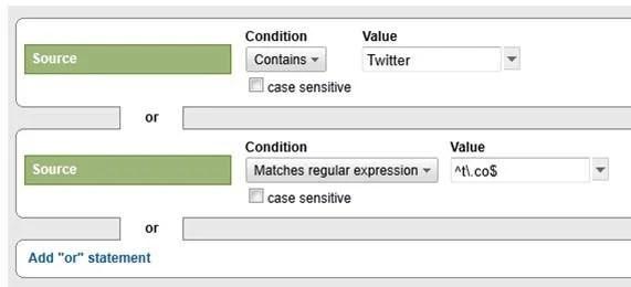 Google Analytics Advanced Segments