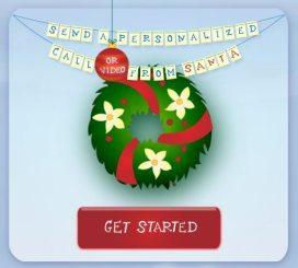 Send a call from Santa
