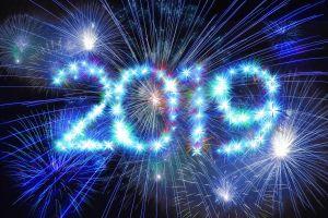 2019 fireworks sky display