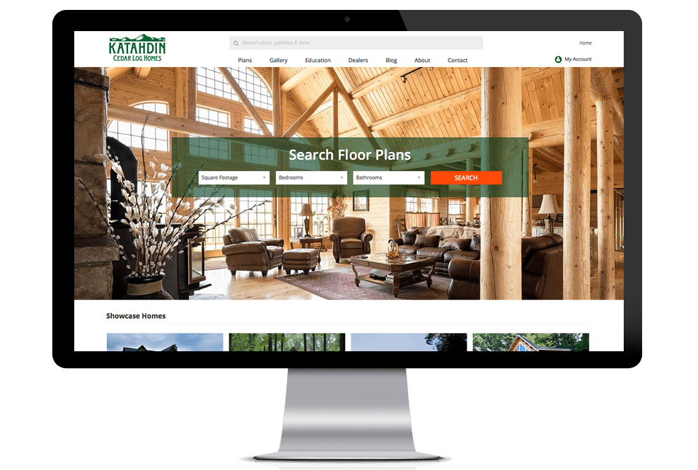 Katahdin Floor Plan Search on Desktop