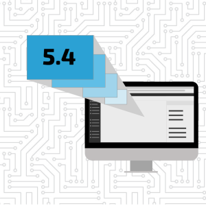 WordPress 5.4 graphic