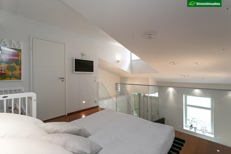 Compact Apartment With A Loft Hall Of Homes