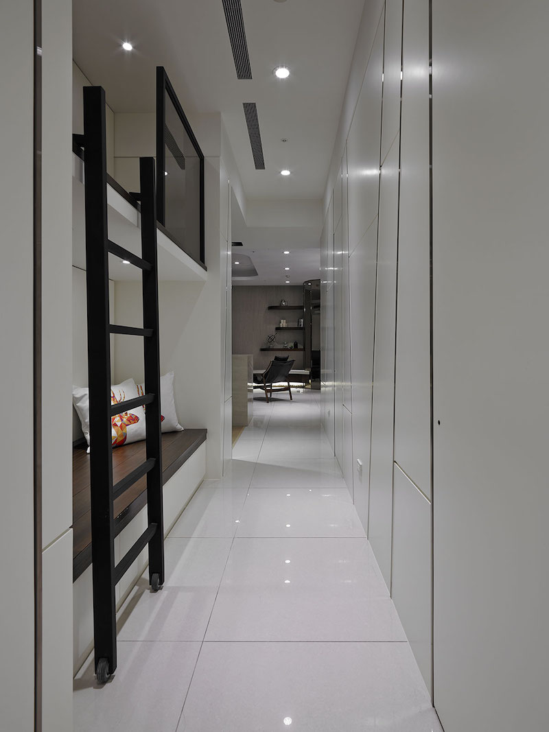 Contemporary Taiwan Apartment Showing Luxury And Simplicity In Interior Design Hall Of Homes
