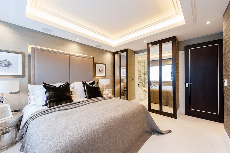 Contemporary Apartment Interiors In London Hall Of Homes