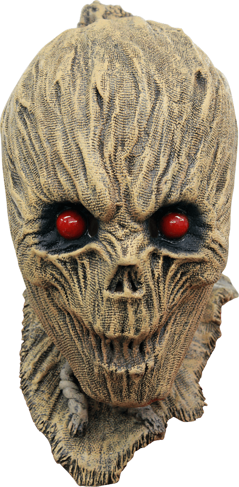 Shrunken Scarecrow Halloween Mask