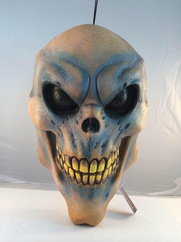 Giant Hanging Skull Halloween Prop