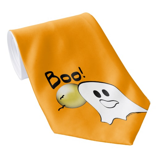 ghost tie