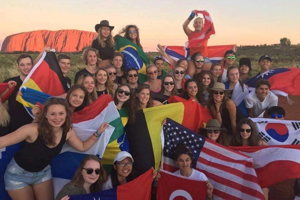 Gerardas Turns 18 At Uluru