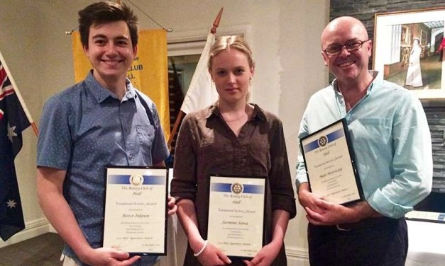Chef Apprentice Award Winners 2015