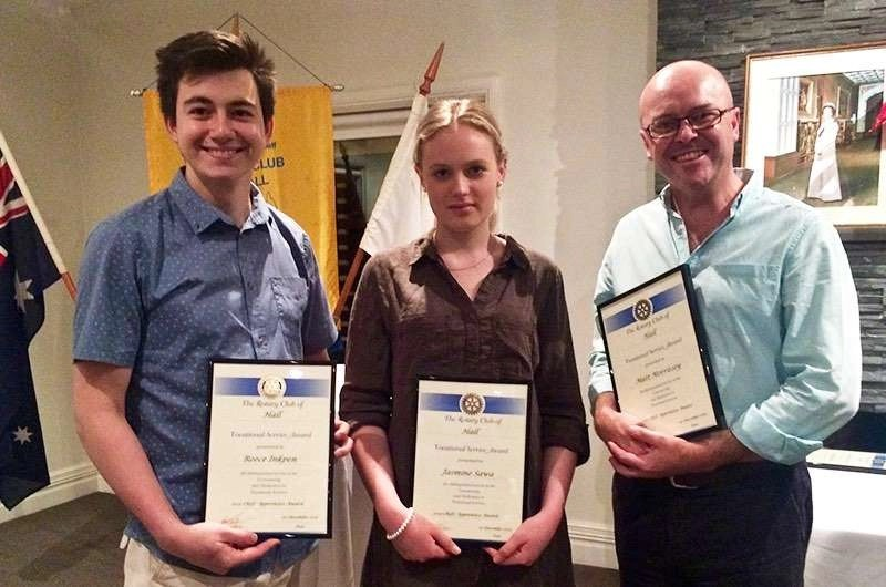 Apprentice Chef Award Winners 2015