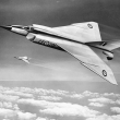 drawing of Avro Arrow