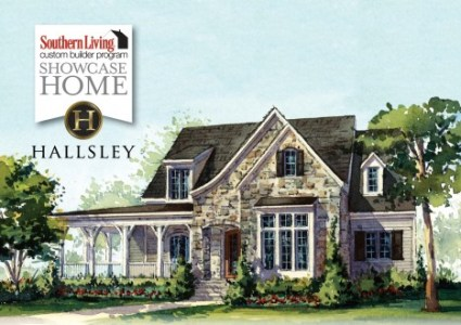 Southern Living Custom Builder Home   Hallsley  Richmond Virginia SL House with Logo