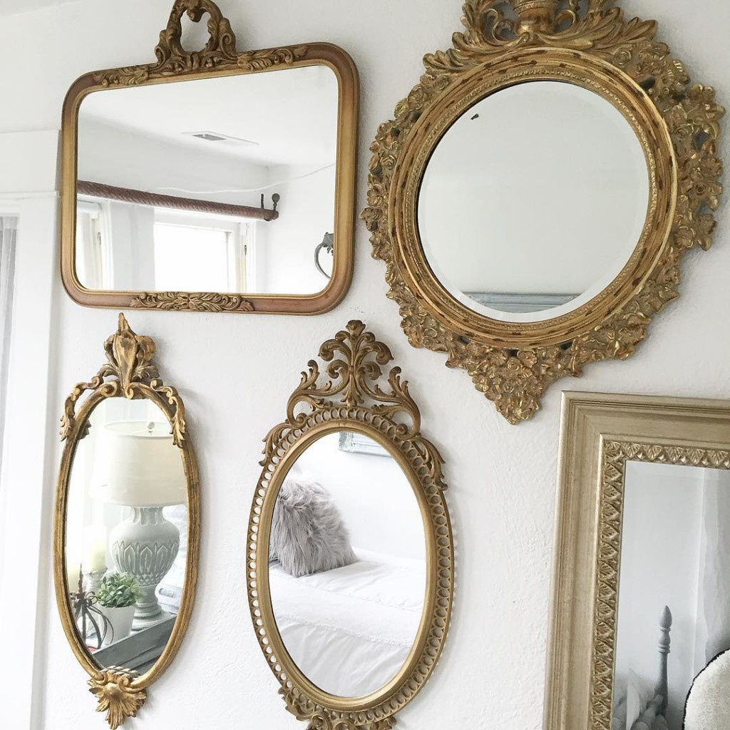 Teen Girl's Bedroom Style- Easy Chalk Paint Recipe ... on Mirrors For Teenage Bedroom  id=12033