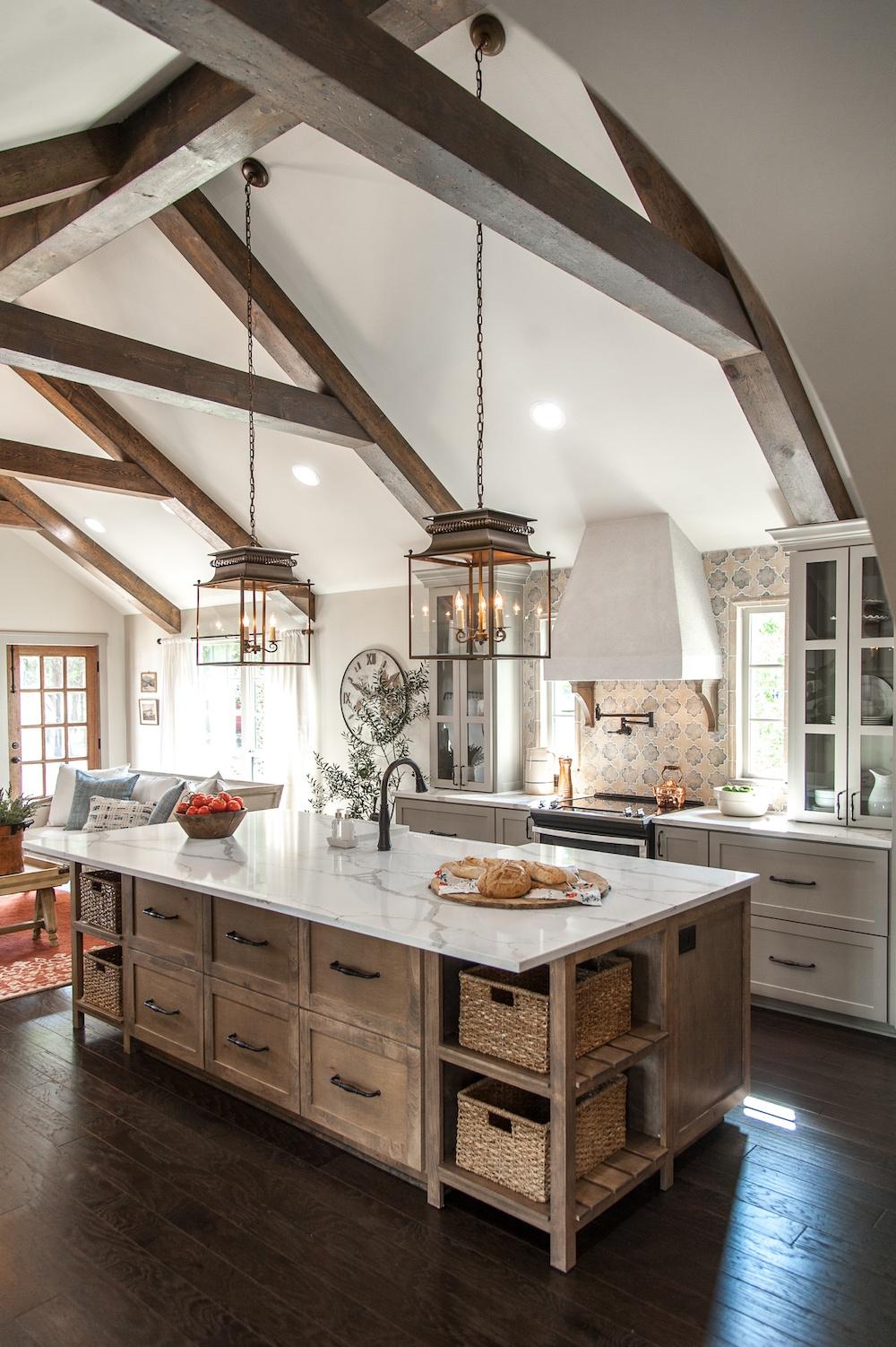 Seven Farmhouse Kitchen Designs ~ Hallstrom Home on Farmhouse Kitchen Ideas  id=30289