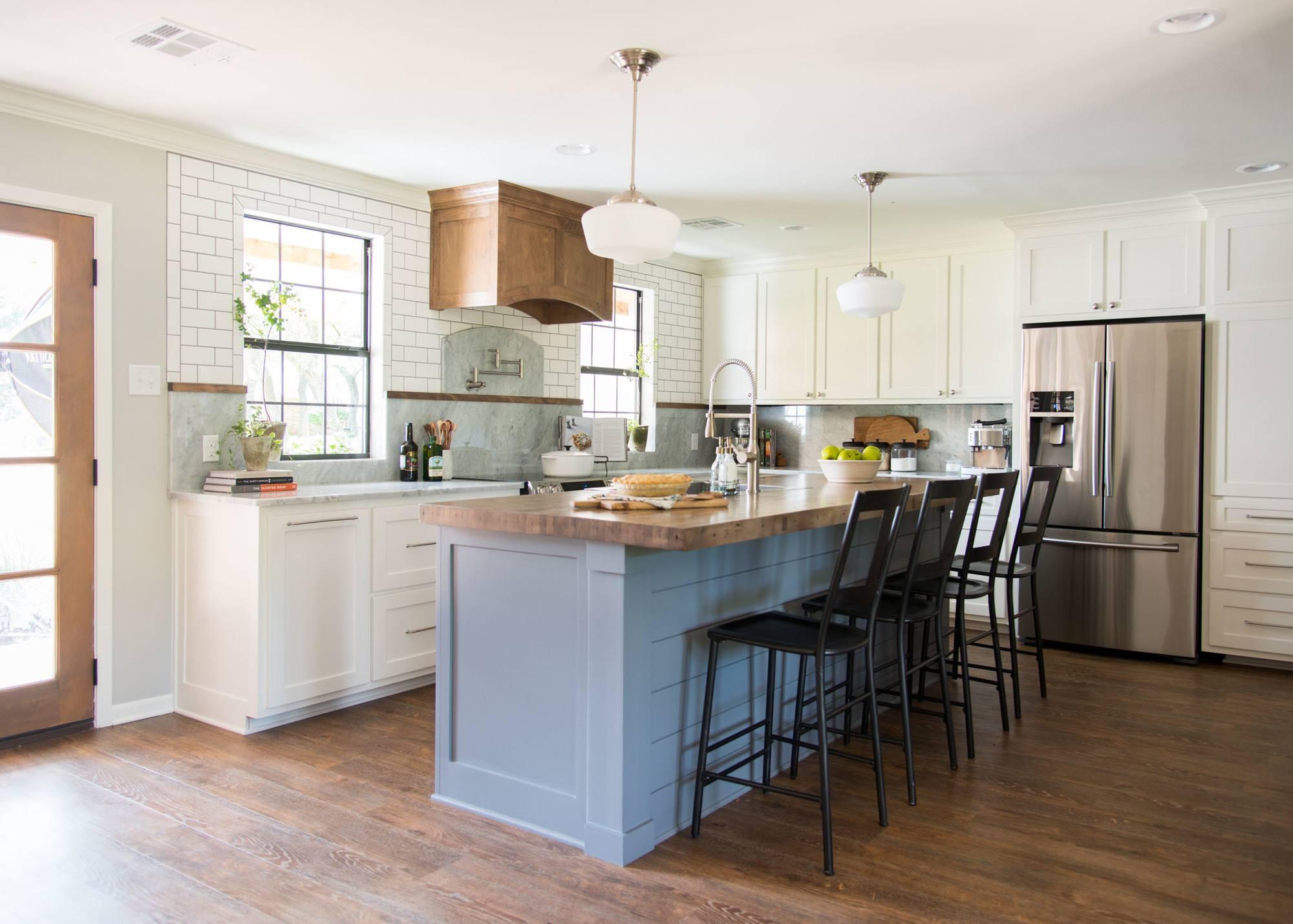 Seven Farmhouse Kitchen Designs - Hallstrom Home on Farmhouse Kitchen Ideas  id=14713