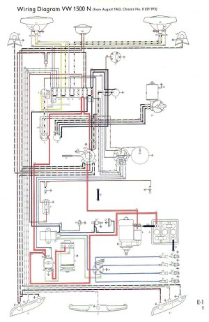 VW Type 3 Wiring Diagrams