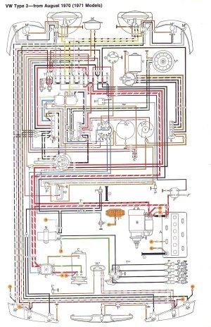 VW Type 3 Wiring Diagrams
