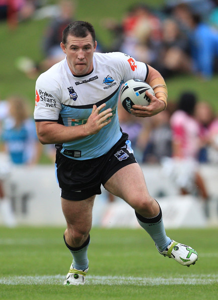 The Cronulla Sharks will have to ride their massive forward pack to get to the finals.