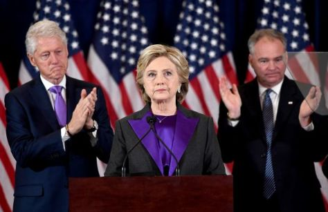 Hillary Concession Speech