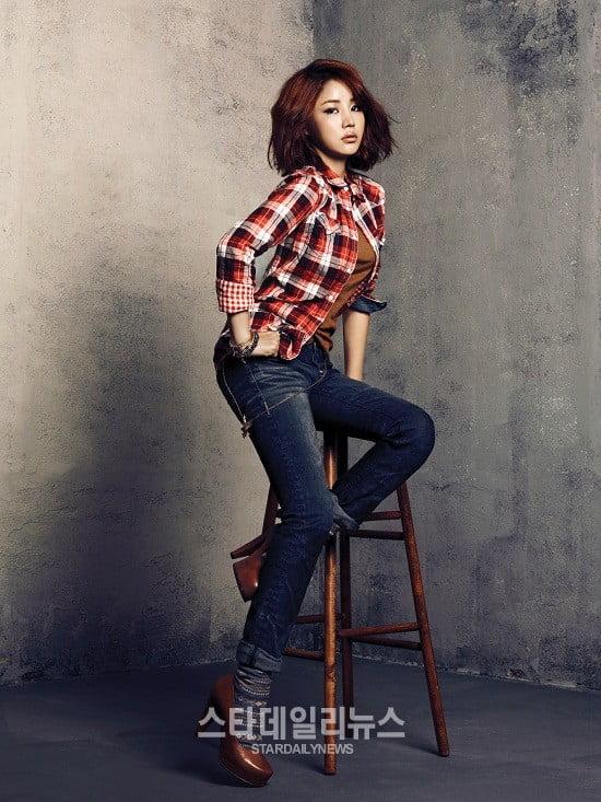 Yoon Jin Yi in 2012 F/W photoshoot