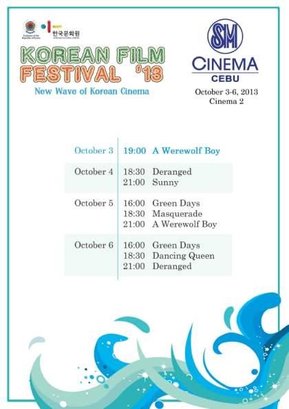 Korean Film Festival 2013 in Cebu