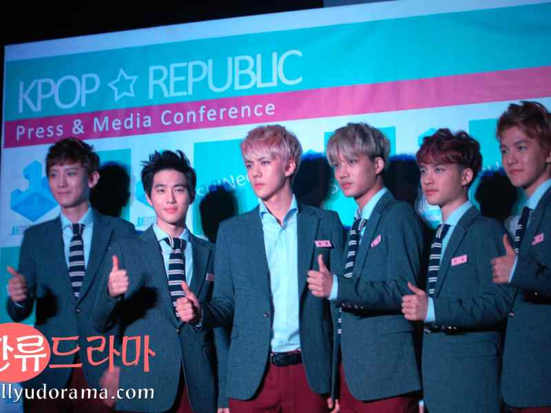 EXO K at Kpop Republic presscon