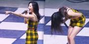 เมื่อ Sunmi เห็นผู้ชมลุกเดินออกไประหว่างโชว์ของเธอ