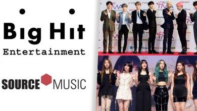 Photo of Big Hit ยืนยันการรวมกิจการ Source Music ต้นสังกัด GFRIEND
